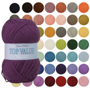 James C Brett Top Value DK Wool