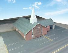 Z Scale Building - Church (Pre-Cut Card Stock Paper Kit)