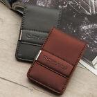 [I'Praves]Leather Men Women Card Case Wallet Money Clip Holder(PRAV-540)