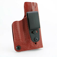 FoxX Holsters IWB Kydex Deluxe Trapp Holster SW MP Shield W/Lasermax 9/40 Red RH