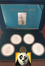 2002 AUSTRALIA $5 Dollars Voyages In History Sailing Ships Silver Proof Set