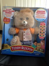 2017 TEDDY RUXPIN Exclusive Rare Comes With The 3 Books To Hold And Read Along