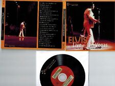 Elvis Presley CD Live in Las Vegas August 7, 1969 at the Dinner Show