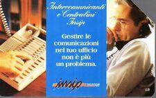 24-Scheda telefonica Telecom Intercomunicanti e centralini Insip 12/1998