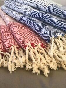 Organic Cotton Towel, Beach Towel, Bath Towel, Peshtemal Towel, Handmade Towel