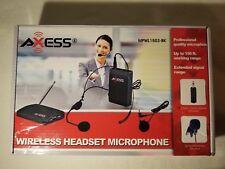 AXESS MPWL1503-BK Wireless Headset Microphone