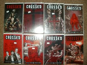 LOT 13 CROSSED 35 36 50 52 57-60 63-65 ALL VARIANTS SOME RARE - GORE HORROR -NM