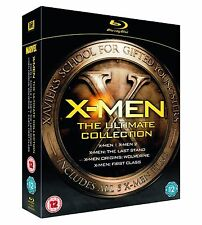 X-Men: The Ultimate Collection [Blu-ray] Hugh Jackman Ian Brand New and Sealed