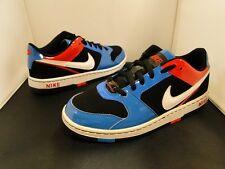 Nike Prestigio II (318978-010) (Blanco/Rojo/Negro/Azul) jóvenes Reino Unido 5.5