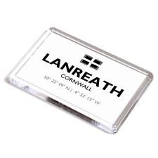 FRIDGE MAGNET - Lanreath, Cornwall - Lat/Long SX1856