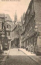 Newcastle-on-Tyne,U.K.Street Scene,Castle Garth in Background,Tyne & Wear,1907