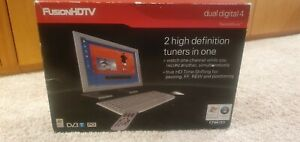 DViCO FusionHDTV Dvb-t Dual Digital 4 - PCI TV Tuner CardWith remote control