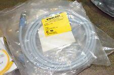 Turck DNET D-Net RSV RKV 5711-3.5M Cable Connector Lot of 4 U-33563 U33563