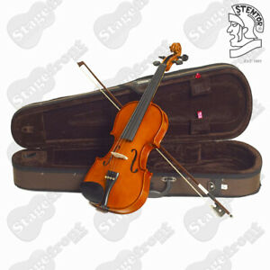 STENTOR STANDARD VIOLIN OUTFIT 4/4 FULL SIZE A GOOD STARTER FOR STUDENTS -S1344