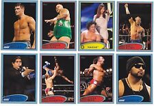Lot of (16) Topps 2012 WWE RARE BLUE PARALLEL insert cards W/ NO DUPES wow! look