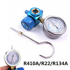 1/4 Car Air Conditioning Refrigerant Low Pressure Gauge Tool For R410A/R22/R134A