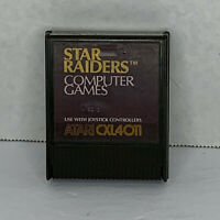Star Raiders (Atari 400 / 800 / XL / XE, 1980) CART ONLY! TESTED & CLEANED!