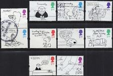 More details for 1996 sg 1905/14 greetings booklet stamps cartoons fine used set of 10