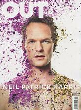 Out Magazine 4/2014 gay men How I Met Your Mother NEIL PATRICK HARRIS