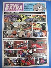 Dark Horse Extra #2 Terminator Poster  Geof Darrow Allred Chadwick 1998