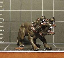 Cerberus 3 headed hell hound plastoy toy figure Mystical Fantasy Greek folk lore