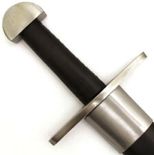 Medieval Warrior 10th Century Full Tang Tempered Steel Viking Sword w/Scabbard