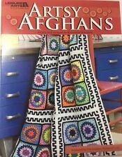 Crochet Pattern Book - Artsy Afghans  by Kathleen D Garen - 4 designs