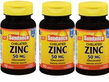 SUNDANCE VITAMINS ZINC 50 MG free shipping