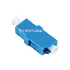 20pcs LC-LC  Fiber Optic  Adapter Connector Singe Mode SM Simplex Coupler  Blue