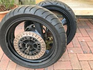 YAMAHA wheels front and rear