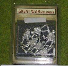 GREAT WAR MINIATURES German Stormtroopers G13 28mm