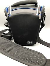 USA Gear QTL Water Resistant Camera Case Holster Bag with Protective Rain Cover