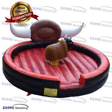 20ft Inflatable Rodeo Mechanical Bull Sport Game Riding Machine