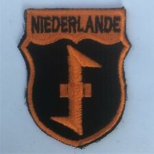 GERMAN ARMY NIEDERLANDE VOLUNTEERS SLEEVE SHIELD patch for sleeve