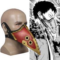 Anime Boku No My Hero Academia Overhaul Half Face Mask Cosplay Halloween Prop
