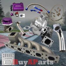 T3/T4 Turbo+Manifold+Purple Wastegate+ Boost Controller Kit for BMW E36 E46