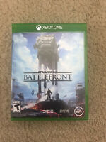 STAR WARS BATTLEFRONT - XBOX ONE CLASSIC FIRST PERSON ACTION GAME