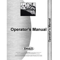 Operator Manual for White 185 Tractor