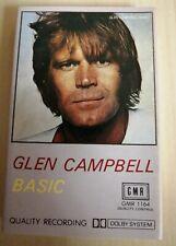 GLEN CAMPBELL ~BASICS ON CASSETTE TAPE