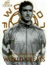 2003 Futera Platinum World Football World Greats W02 Eric Cantona