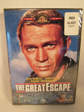 The Great Escape Dvd Steve McQueen Garner Attenborough New Factory Sealed