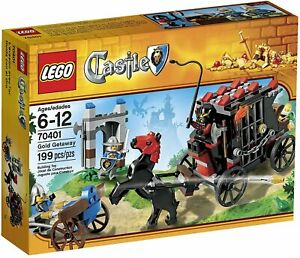 LEGO Gold Getaway 70401 new sealed Castle theme set