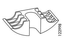 (2) x IKEA # 122998 U-WEDGE assembly Washer