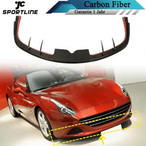 Carbon Frontlippe Frontspoiler Spoilerlippe Passt für Ferrari 458 Speciale 14-15