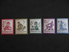 Netherlands 1950  Child Welfare.  MNH set.