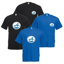 Renault Alpine T-Shirt Classic French Car Enthusiast VARIOUS SIZES & COLOURS
