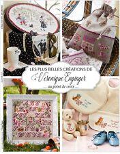 French cross stitch mook Les Plus Belles Creations:Veronique Enginger 2.
