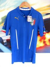 PUMA ITALY PLAYER ISSUE FOOTBALL SHIRT WITH TAGS S M L SLIM FIT