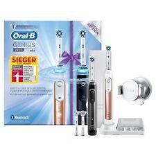 Oral-B Genius 9900 Elektrische Zahnbürste Set 2 Handstücken 4 Aufsteckbürsten