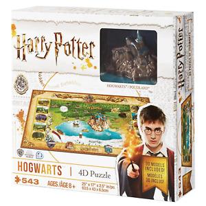 4D Harry Potter Hogwarts 543 Pieces